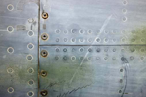 Commercial Airplane「Metal XXXL Background With Rivets and Screws」:スマホ壁紙(7)
