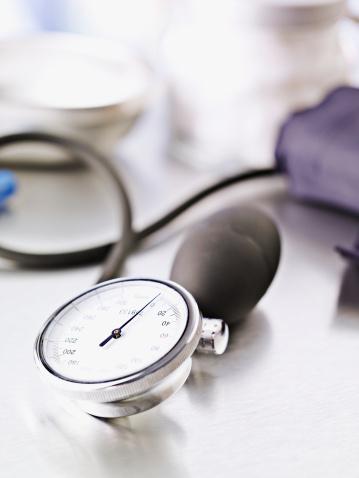Monitoring Equipment「Blood pressure device on table」:スマホ壁紙(17)
