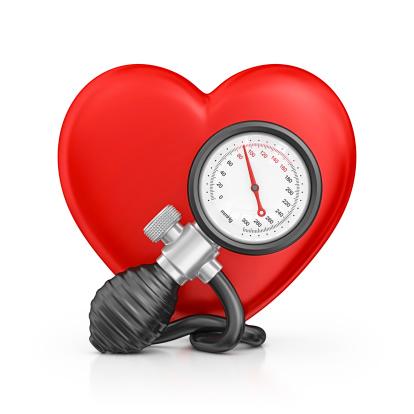 ハート「血圧計」:スマホ壁紙(15)