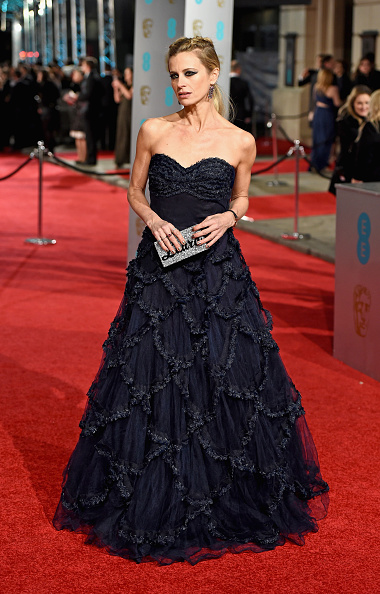Strapless Evening Gown「EE British Academy Film Awards - Red Carpet Arrivals」:写真・画像(2)[壁紙.com]