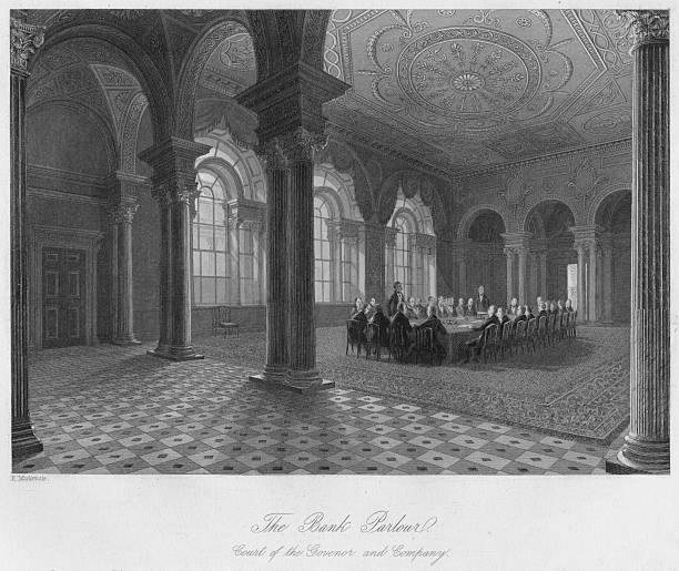 The Bank Parlour. Court of the Governor and Company:ニュース(壁紙.com)