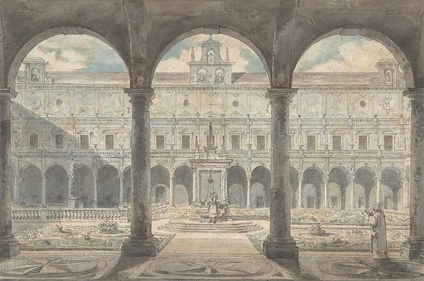 18th Century「Cloister Of The Certosa Di San Martino」:写真・画像(19)[壁紙.com]