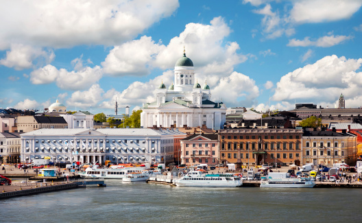 Cathedral「Summer of Helsinki, Finland.」:スマホ壁紙(4)