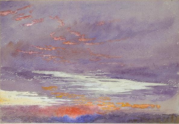Copy Space「Study Of Dawn: Purple Clouds」:写真・画像(14)[壁紙.com]