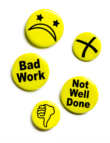 Disappointment「Disapproving button badges」:スマホ壁紙(1)