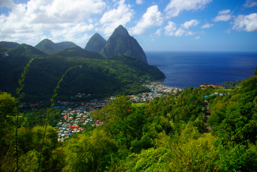 Eco Tourism「pitons in soufriere st lucia, a unesco world heritage site」:スマホ壁紙(16)