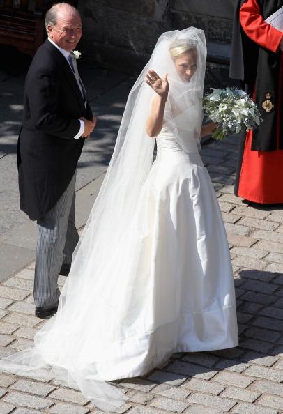 Bouquet「Zara Phillips Marries Mike Tindall In Edinburgh」:写真・画像(3)[壁紙.com]