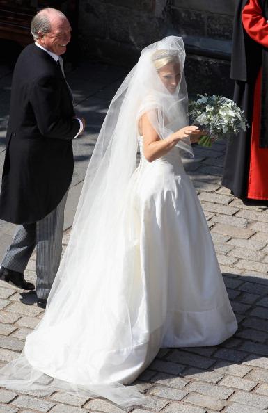 Bouquet「Zara Phillips Marries Mike Tindall In Edinburgh」:写真・画像(4)[壁紙.com]