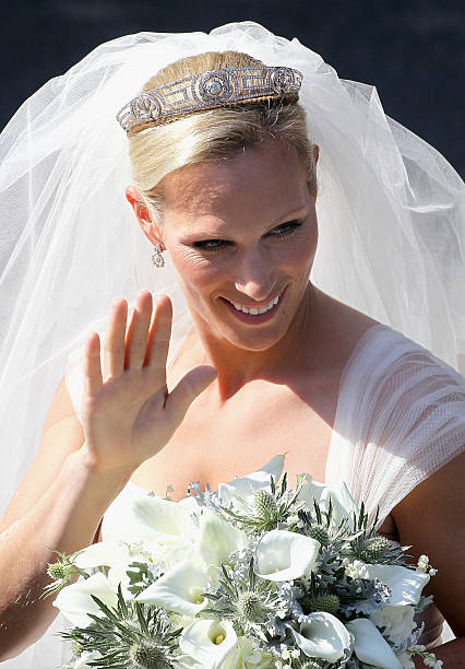 Zara Phillips Marries Mike Tindall In Edinburgh:ニュース(壁紙.com)