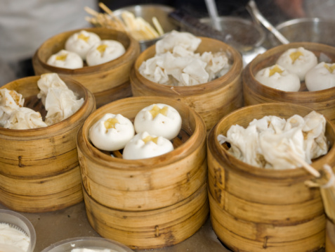 Chinese Steamed Bun「Chinesefood at Wangfujin food street,Beijing」:スマホ壁紙(14)