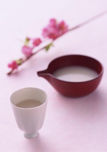 ひな祭り「Sacred White Sake」:スマホ壁紙(17)