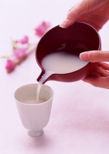 ひな祭り「Sacred White Sake」:スマホ壁紙(18)