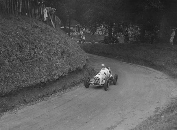 Austin 7 of LP Driscoll competing in the MAC Shelsley Walsh Speed Hill Climb, Worcestershire, 1935:ニュース(壁紙.com)