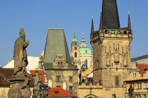 Charles Bridge「Prague towers」:スマホ壁紙(5)