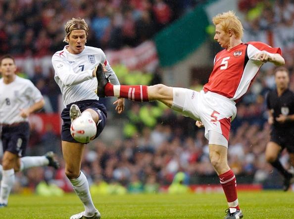 International Team Soccer「England v Austria FIFA World Cup Europe group quleifier at Old Trafford 2005」:写真・画像(12)[壁紙.com]