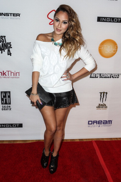 Adrienne Bailon「Abbey Dawn By Avril Lavigne - Arrivals - Spring 2013 Style360」:写真・画像(16)[壁紙.com]