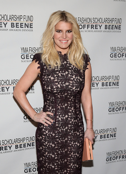 Jessica Simpson「YMA Fashion Scholarship Fund Geoffrey Beene National Scholarship Awards Gala」:写真・画像(13)[壁紙.com]