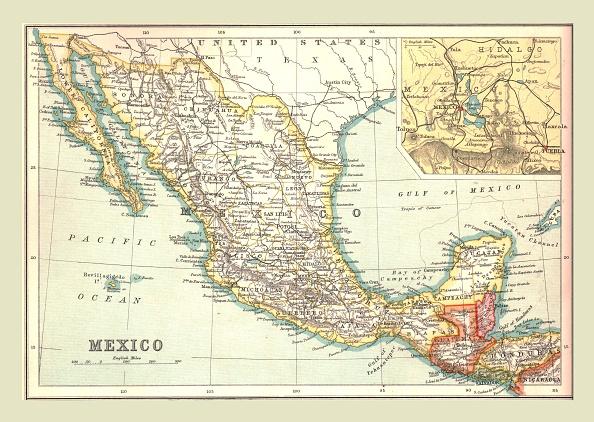 Central America「Map Of Mexico」:写真・画像(18)[壁紙.com]