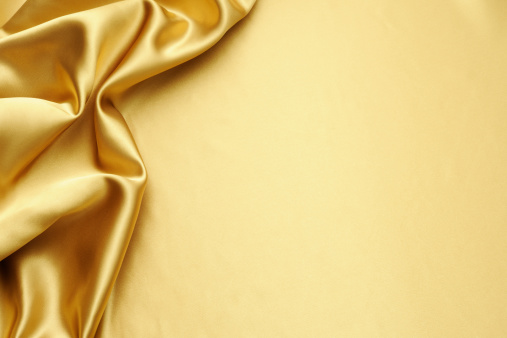 Wrinkled「Gold satin texture background with copy space」:スマホ壁紙(13)