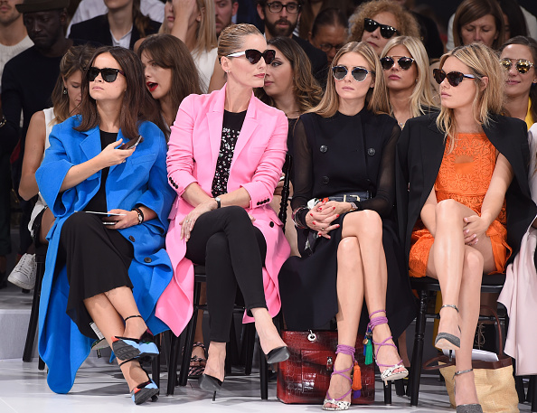 Coat - Garment「Christian Dior : Front Row - Paris Fashion Week Womenswear Spring/Summer 2015」:写真・画像(2)[壁紙.com]