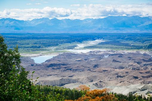 Kennicott Glacier「Kennicott glacier from Jumbo mine trail」:スマホ壁紙(7)
