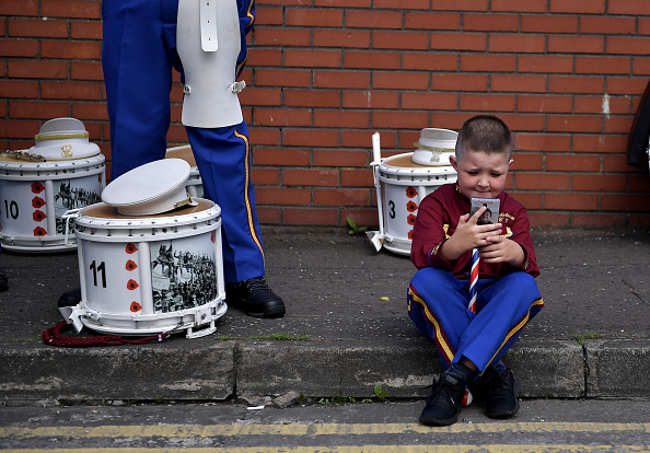 Wireless Technology「The Orange Parade Commemorating The Battle Of The Boyne Takes Place In Belfast」:写真・画像(19)[壁紙.com]