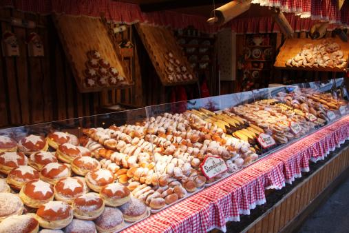 Market Stall「Christkindlmarkt in Vienna, Austria」:スマホ壁紙(14)