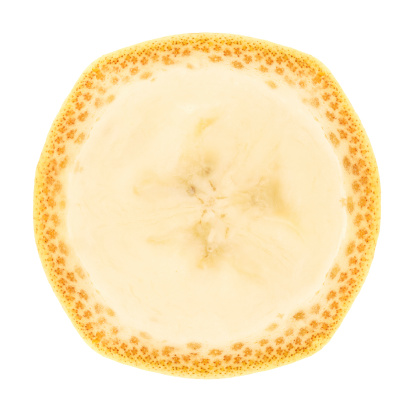Cross Section「Banana portion on white」:スマホ壁紙(6)
