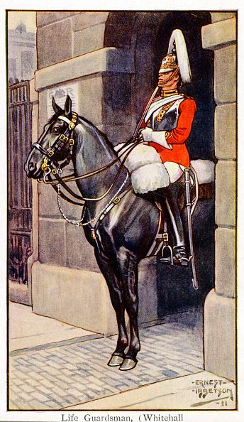 City Life「Life Guardsman at Whitehall, London, 1911」:写真・画像(12)[壁紙.com]