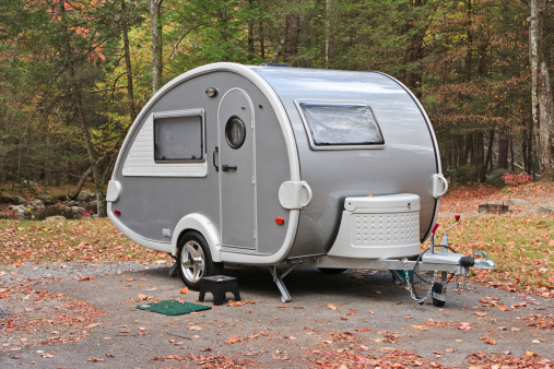 Funky「Teardrop camper trailer in the Smoky Mountains」:スマホ壁紙(14)