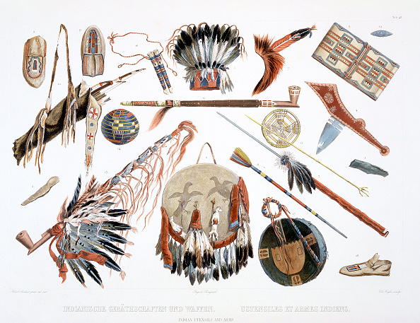 Headwear「Indian Utensils And Arms' 1843」:写真・画像(12)[壁紙.com]
