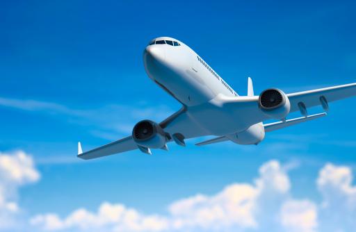 飛行機「飛行機の雲」:スマホ壁紙(17)