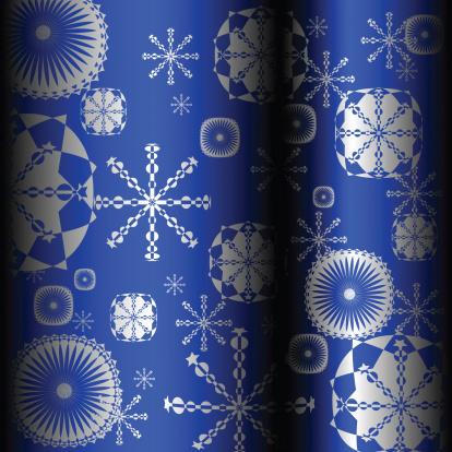 宿り木「snowflakes design」:スマホ壁紙(4)