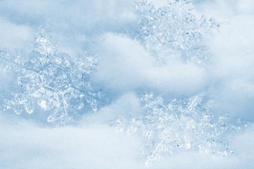 雪「結晶の背景」:スマホ壁紙(4)