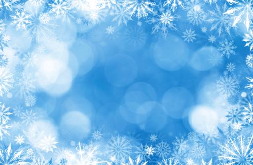 雪の結晶「結晶の交番前のデフォーカスライト」:スマホ壁紙(4)