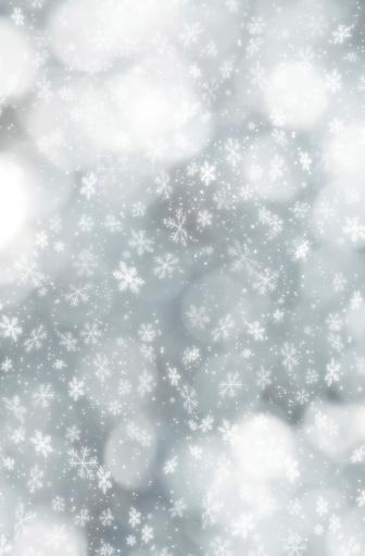 雪の結晶「結晶の交番前のデフォーカスライト」:スマホ壁紙(7)