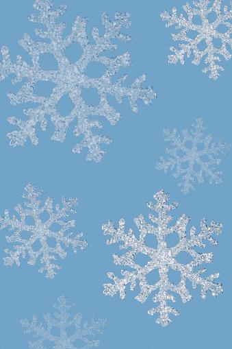 雪の結晶「Snowflakes」:スマホ壁紙(9)