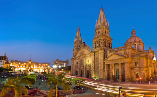 Cathedral「Guadalajara Cathedral Mexico」:スマホ壁紙(14)