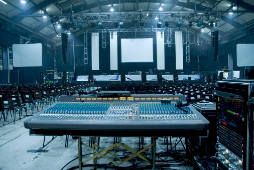 Sound Recording Equipment「Large Auditorium Hall」:スマホ壁紙(9)