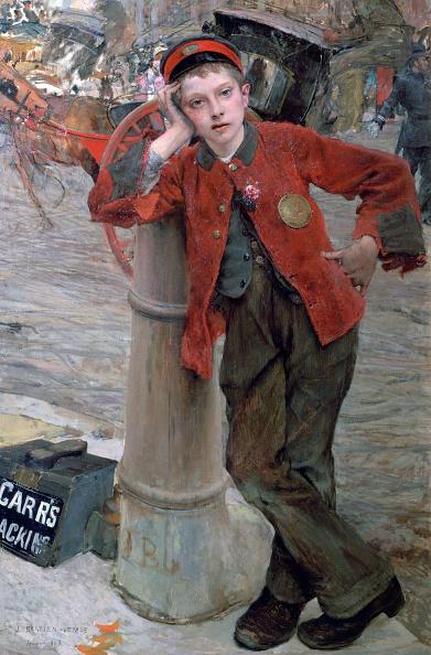 Bollard「London Shoeshine Boy」:写真・画像(3)[壁紙.com]