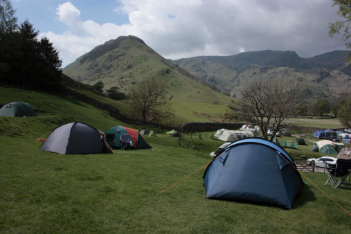Eco Tourism「Sykeside campsite, Cumbria, England」:スマホ壁紙(6)