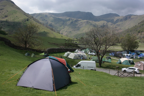 Car「Sykeside campsite, Cumbria, England」:スマホ壁紙(7)