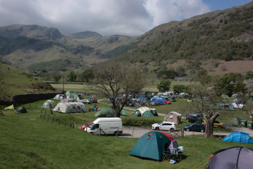 Car「Sykeside campsite, Cumbria, England」:スマホ壁紙(8)