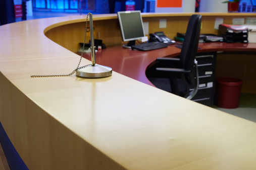 Bank Counter「Workplace in an office」:スマホ壁紙(2)