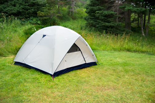 Eco Tourism「Tent In The Forest During A Summer Camp」:スマホ壁紙(16)