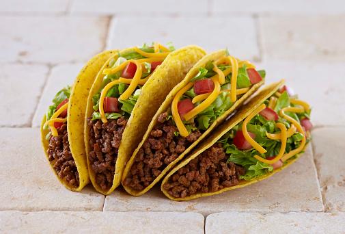 Stuffing - Food「Ground Beef Tacos」:スマホ壁紙(17)