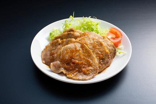 Soy Sauce「Japanese home cooking, pork ginger grill recipe」:スマホ壁紙(0)