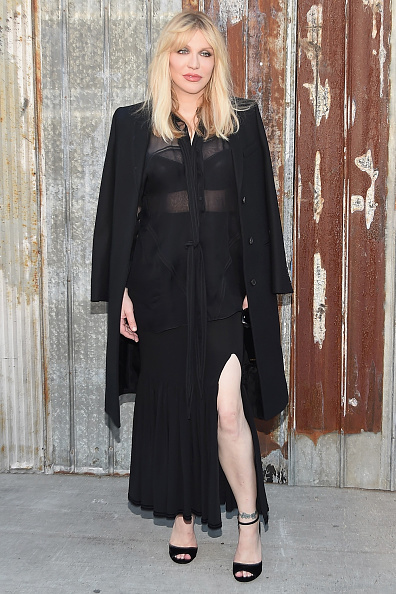 Courtney Love「Givenchy - Arrivals - Spring 2016 New York Fashion Week」:写真・画像(16)[壁紙.com]