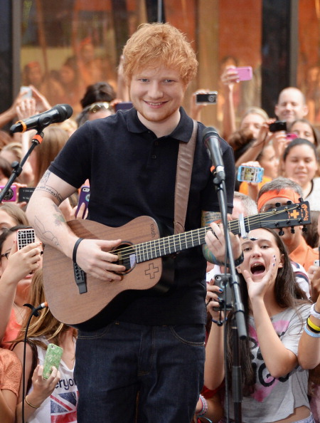"Mike Coppola「Ed Sheeran Performs On NBC's ""Today""」:写真・画像(15)[壁紙.com]"