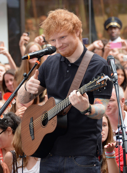 "Mike Coppola「Ed Sheeran Performs On NBC's ""Today""」:写真・画像(18)[壁紙.com]"
